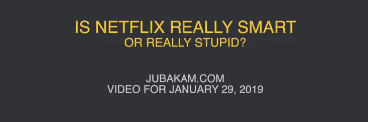 Video: Is Netflix Really Smart? Or Really Stupid?