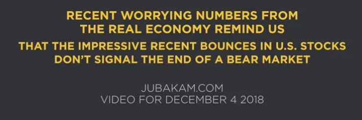 Video: Worrying Numbers from the Real Economy