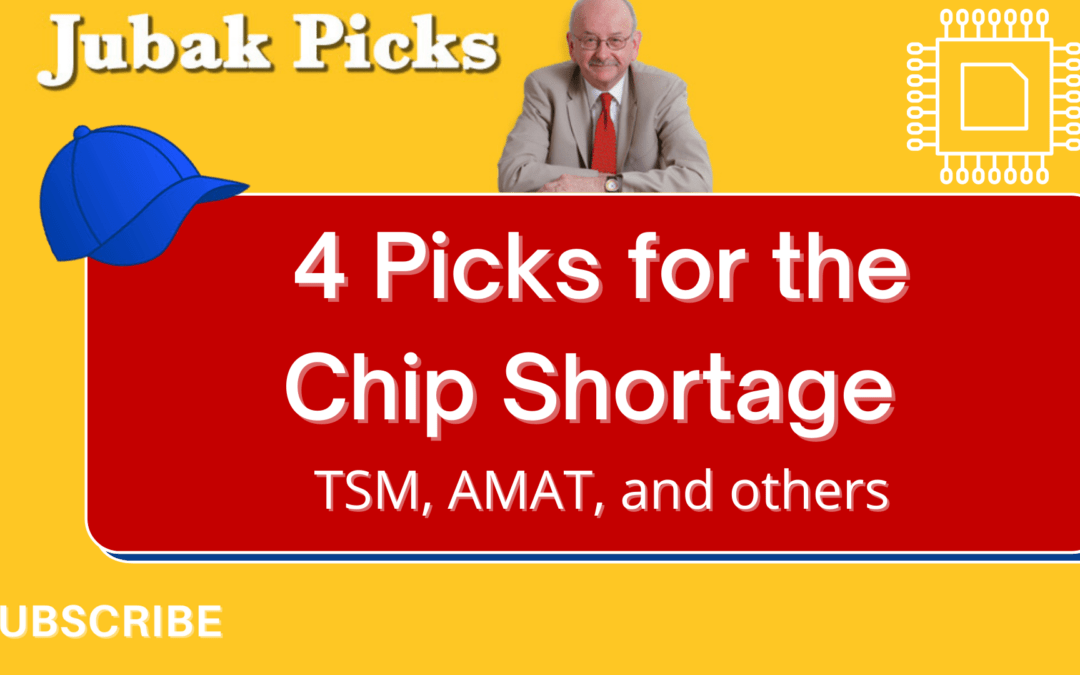 Watch my new YouTube video on 4 stock picks for the chip shortage