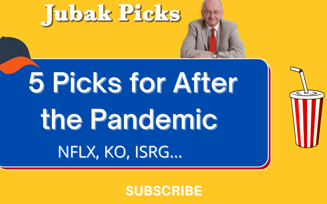 Watch my new YouTube video on 5 picks for after the pandemic