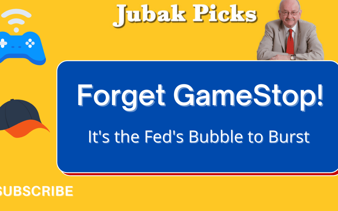 Watch my new New YouTube video: Forget GameStop; It's the Fed's bubble to burst.