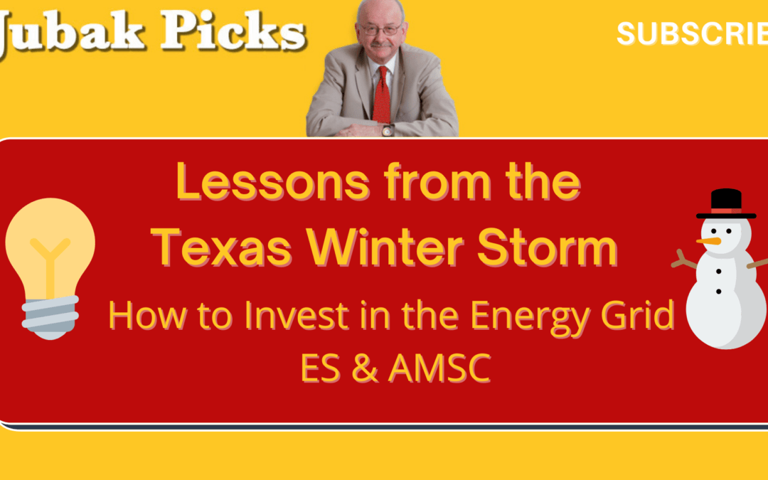 """Watch my new YouTube video: """"Lessons from the Texas Winter Storm: How to invest in the Energy Grid"""""""