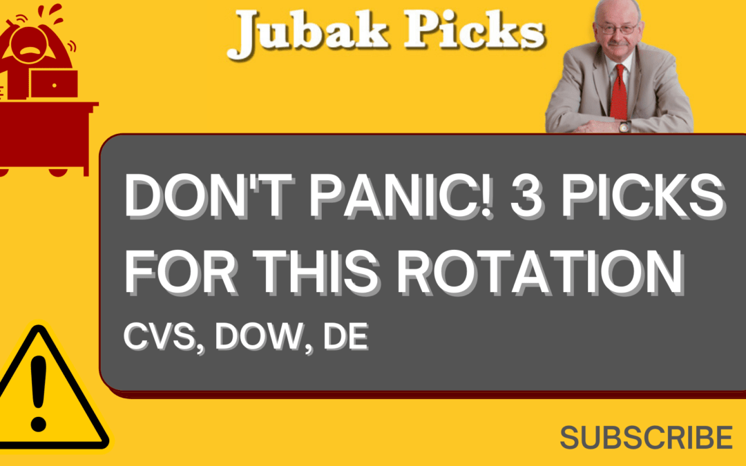 "Watch my new YouTube video ""Don't panic: 3 Picks for This Rotation"""