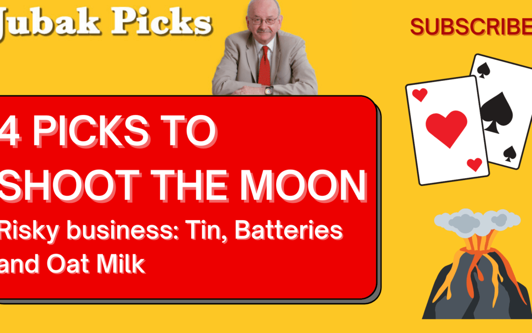 """Watch my New YouTube video: """"4 Picks to Shoot the Moon"""""""
