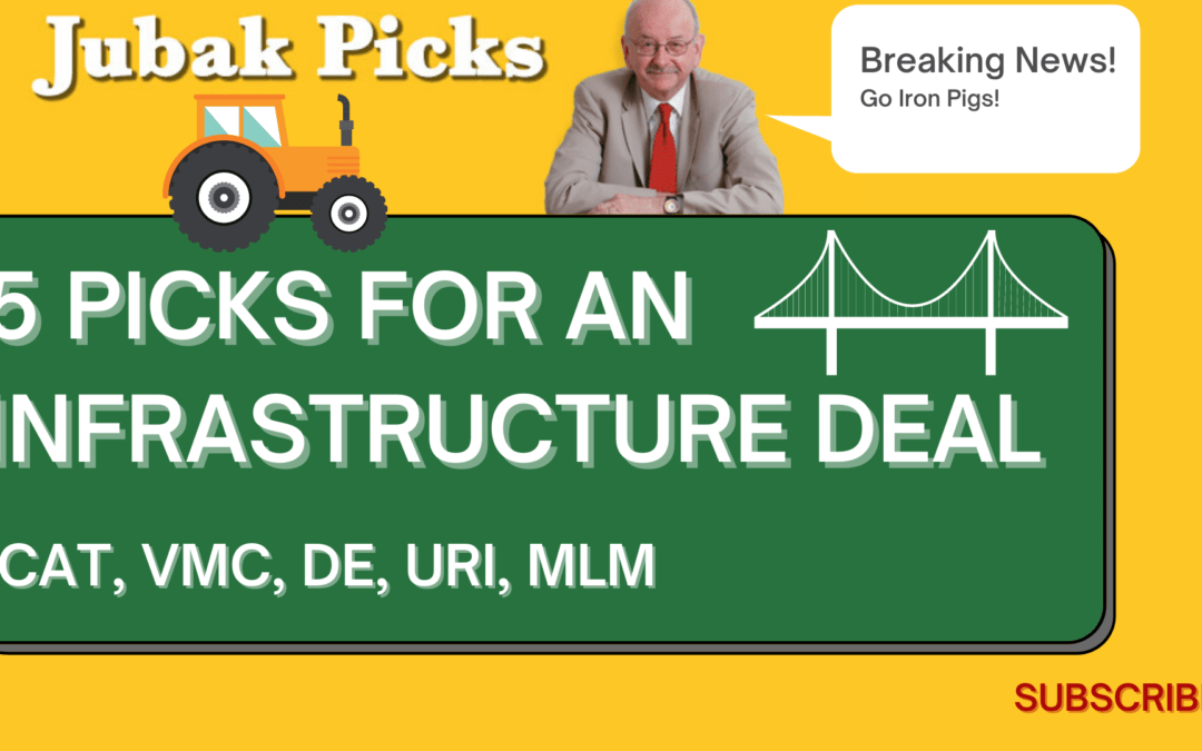 Watch my new YouTube Video: 5 stock picks for the infrastructure deal