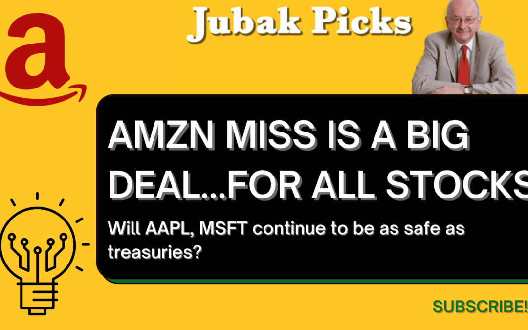 """Watch my new YouTube video: """"Amazon miss is a big deal…for all stocks"""""""