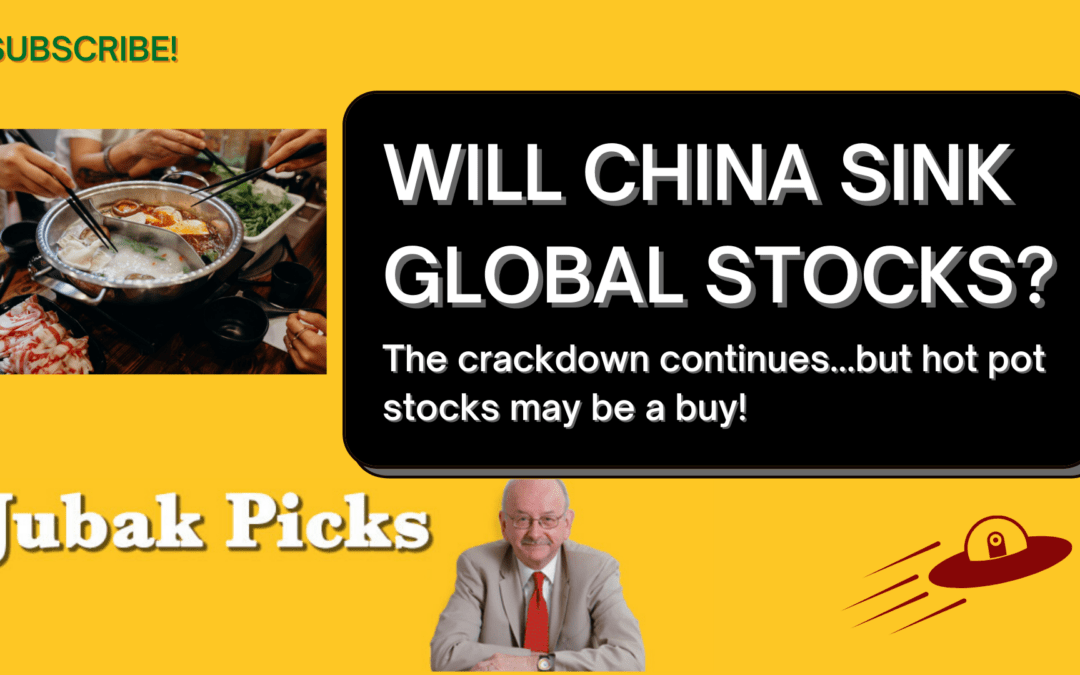 Watch my new YouTube video: Will China sink global stocks?