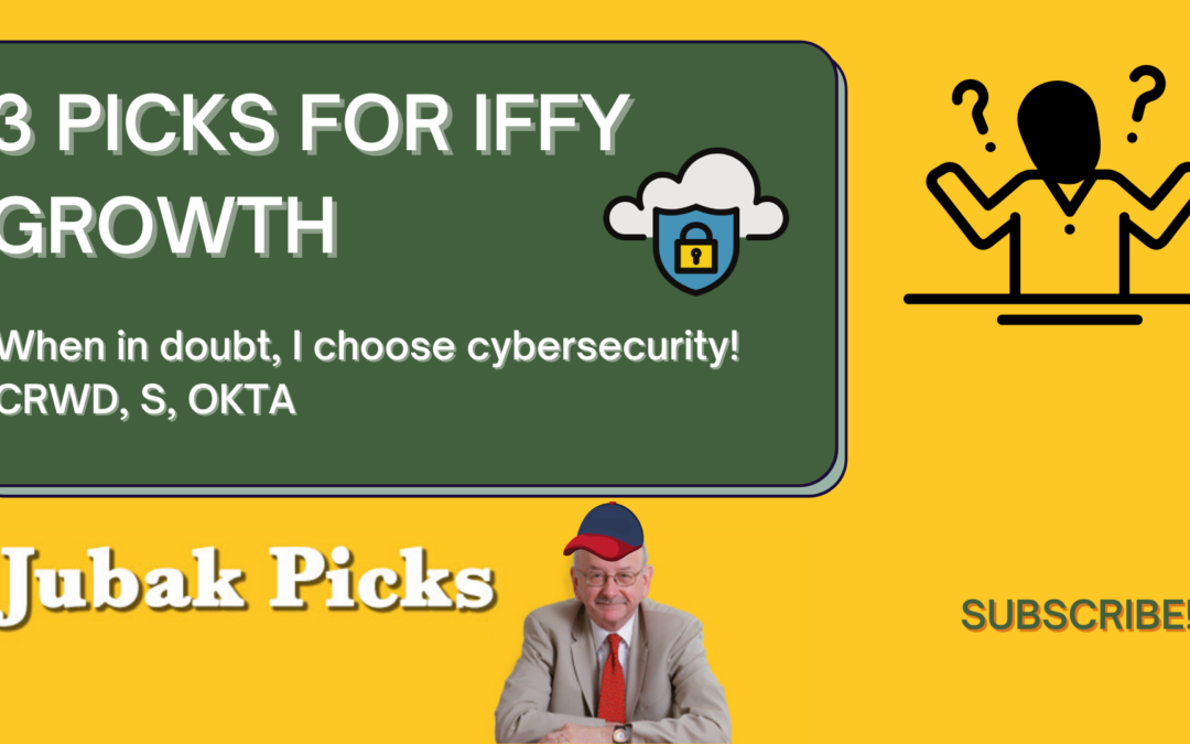 Watch my new YouTube video: 3 Picks for Iffy Growth